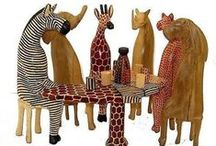 Home Accessories / Home ornaments such as the beaded animals that are imported from South Africa. The papier mache ball ornament handmade and hand-painted by Indian artisans. Beautiful home decor that warms your heart. Awesome Beautiful Handmade Gifts Ideas | Shop Store | Wood and metal home ornaments decor