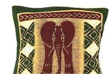 Home Decor - Textiles | African Tribal Decorating Fabric / Beautiful African Decorative Textiles | Awesome Elegant Wall Textile Art products | Rustic Warm Wall Textile Decor Gift Gifts | Natural Wall Decoration for Living Room | Bedroom | Wall decorating shop | African Wall Decor | African Wall Hanging | African Wall Art store | Table Cloth Ideas | Table Cloth Decorations | Handmade Cushion covers Ideas | African Cushion Covers. Hand-batiked wall textile cloth | placemat. Wall tapestries | Wall tapestry decor ideas | apartment