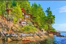 """Visit Sechelt With MLI / Boasting incredible views of the Strait of Georgia and the Coast Mountains, Sechelt offers something for everyone. Sechelt, meaning """"land between two waters"""" in local Coast Salish language, fittingly burgeons with things to do on both land and water. Sechelt is already ready to make you happy. #Sechelt #MLI #ESL #LearnEnglish #Canada #BC #Homestay #StudyinCanada"""