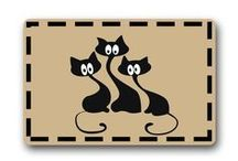 Cat Home Decor / Home Decor Featuring Cats - Unique Cat Related Furnishings
