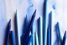 Azure / Je adore la couleur bleue