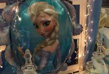 frozen birthday party decoration