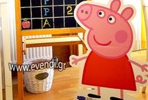 Peppa pig birthday decoration / party peppa