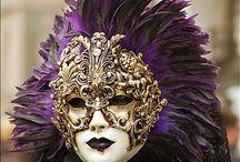 İtaly karnaval  mask  / Festival maskeleri
