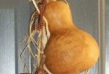 gourds art sukabagı dekoratif çalışmaları / Bildiğimiz su kabağı :))