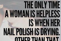Nail polish / Belle jusqu'au bout des ongles