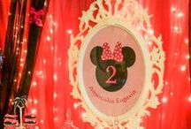 Minnie mouse party decoration / Παιδικό πάρτυ