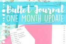Bullet Journaling // Layouts, Goals, Prompts, Doodles