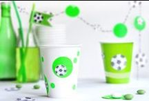 SOCCER  PARTY // FUSSBALL / FUSSBALL // DEKORATION // DEKO // SOCCER-PARTY // IDEAS