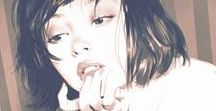 Looks film & tegneserier / Om forskjellige visuelle uttrykk for tegneserier og film. Farger o.l.