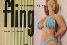 Vintage Pin-Up & Burlesque Models / beauty from the past