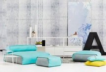 colorful interior / love turquoise