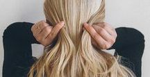 --Hair and Nails-- / Hairstyles. Ideas. Nails. Pretty.