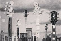 GUITAR SHAPED. / I see #guitars everywhere.