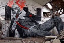 "STREET ART. / ""La Beauté est dans la rue.""  #streetart, #murales and #graffiti"
