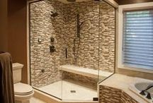 Bath Ideas / The best room in the house for escape!