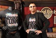 IT'S ONLY A T-SHIRT ... but we like it! / Celebrities rocking #HardRock T-shirts! Manchi solo tu ... ti aspettiamo nel nostro #Rockshop! #ThisIsHardRock