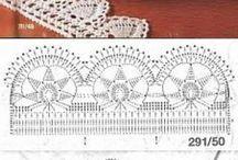 crochet lace & edgings