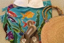 Summertime Living / Summer is the season for flip flops, warm sunshine, outdoor concerts, ice cream cones and splashing in the water.  Goodwill has you covered whether you need a cowboy hat for the local country fest, a beach bag, or even a fun new DIY project!