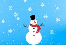 """Ready for Christmas? / These decals are perfect for sprucing up your store windows or adding that extra touch to wrapped packages! The snowflakes are a terrific way to add that missing element to your child's """"Frozen"""" themed room!  Is it Christmas yet? :)"""