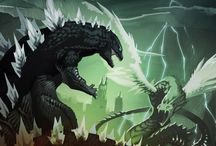 Godzilla / by Melissa Alanis