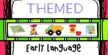 Early Language / Fun, interactive and engaging - The core concepts of Early Language. A place for therapy tools, ideas, DIY and crafts.
