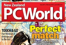 Covers / Covers of New Zealand PC World from the last few months.