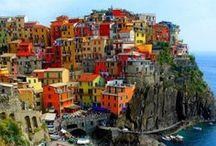 Colourful scenes