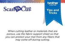 Tips and Tricks / Our ScanNCut experts have shared some tips and tricks to help you get the most out of your ScanNCut.