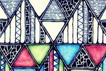 triangles / by birgit jennings