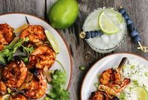 Shrimp / We carry three different sizes of raw Wild Gulf Shrimp.  We also have shrimp that is cooked and ready to eat just need some Famous Robert's Cocktail Sauce!