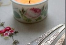 Romantic pinks and shades of pastel / Ultra feminine,romantic and cozily soft!