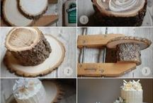 ideas - wedding cake boards