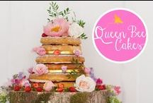Queen Bee Cakes /  Wedding and Birthday Cakes, made by Queen Bee Cakes
