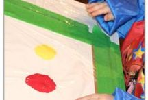 Painting for Kids / Using paints with kids - fun, messy, sensory play... did I mention FUN?