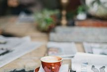 Coffee and romance. / My love for coffee and the special man in my life......and a hint of chocolate!