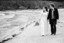 Black & White Cornwall Wedding