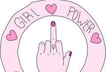 Girl power / Great people