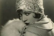 The Roaring Twenties..The Look / Images from the 1920s, fashion, make up, hair.