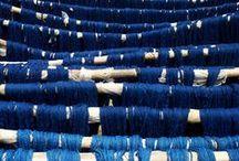 True Blue - Indigo textiles / Celebrating everything Indigo