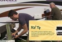 RVing / RVing 101 or a seasonal camper will appreciate RV tips and information.