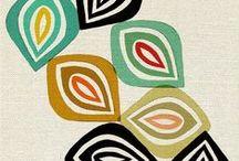 Modern Textiles & Pattern / Fabrics that inspire us