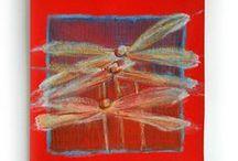 Malowane skrawki / codzienne obrazki - malarski wellness