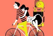 Silk & Bike / o tym jak jedwab i rower pasują do siebie :)