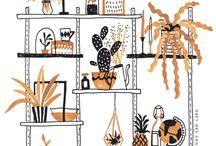 Illustrate / Illustration & draw