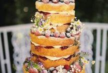 'Naked' Wedding Cakes