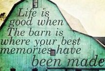 #putabarnonit / Our affection for barns - and those who own them - runs deep.