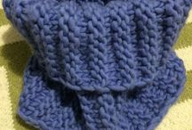 Arts and crafts / Handmade beautiful knitted cowls.  Available in various colors.