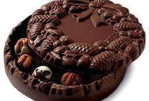 čokoláda,petits fours