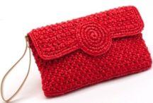 knit & crochet Bag